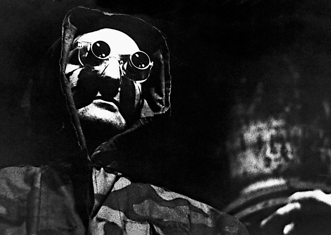 Jacques Ledoux as the scientist of the future in La Jetee (1962)