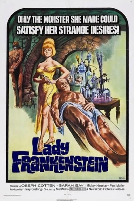 Lady Frankenstein (1971) poster