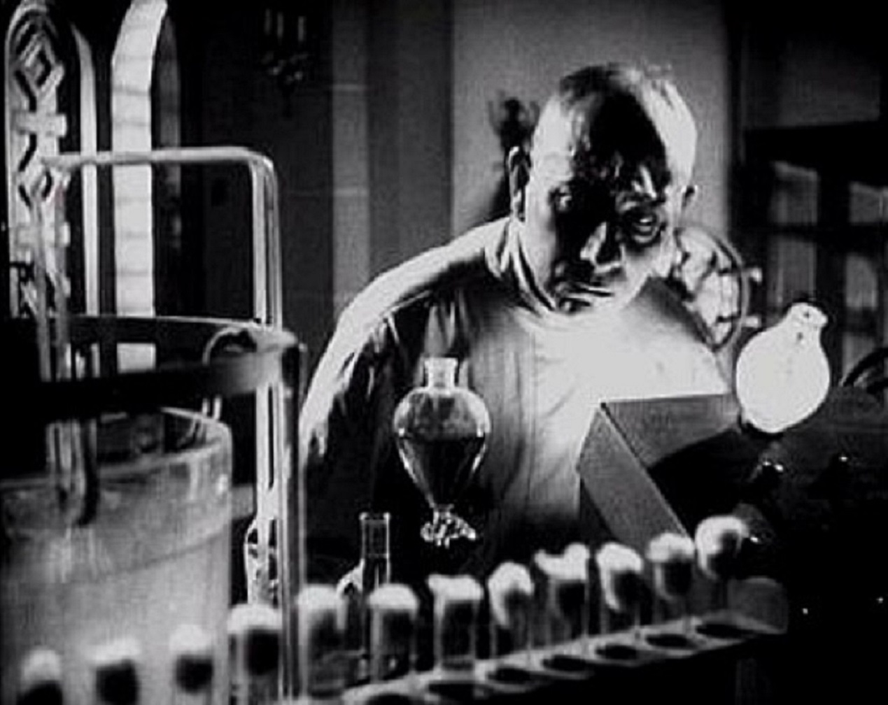 Erich von Stroheim in The Lady and the Monster (1944)