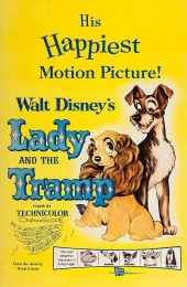 Lady and the Tramp (1955) poster