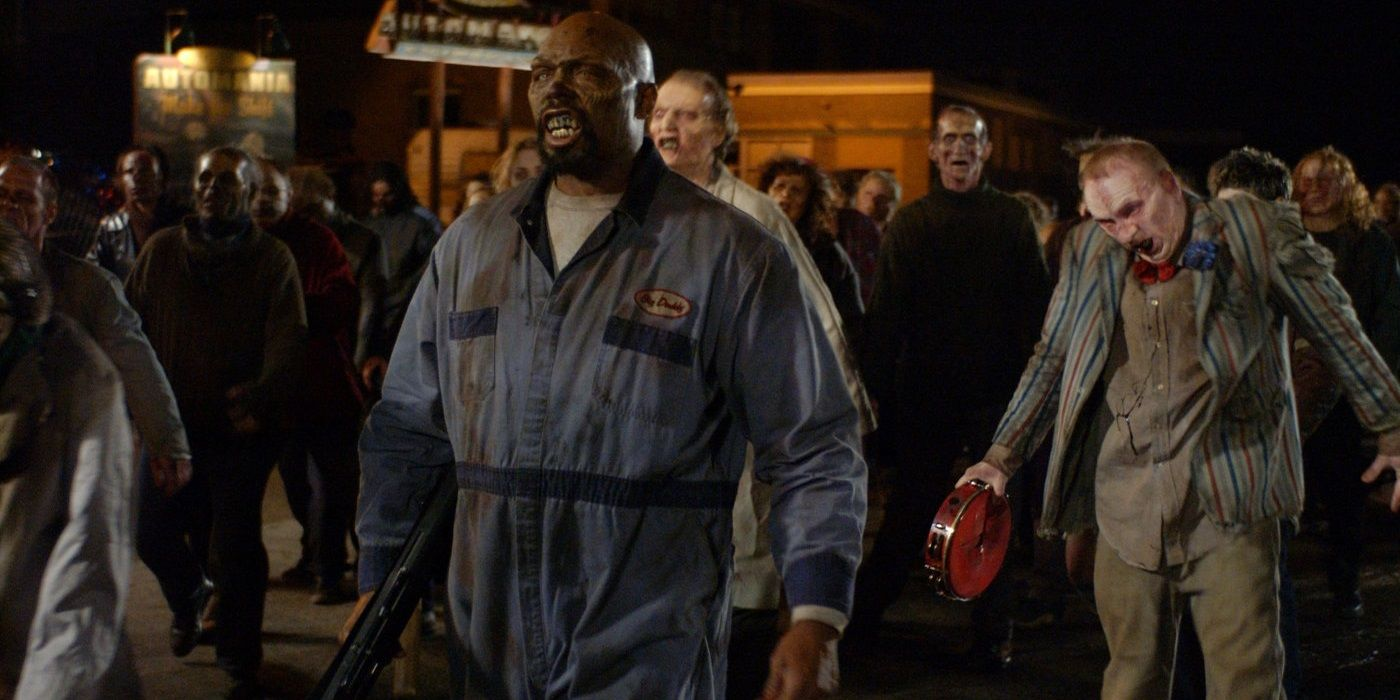 Zombies in Land of the Dead (2005)