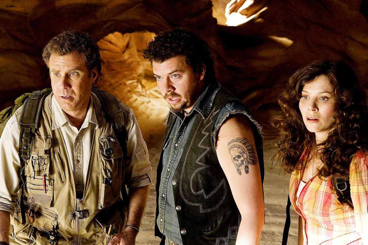 Will Ferrell, Danny McBride, Anna Friel in Land of the Lost (2009)