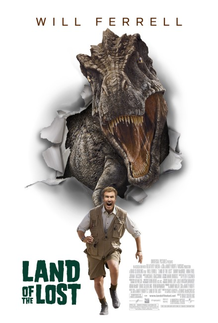Land of the Lost (2009) poster