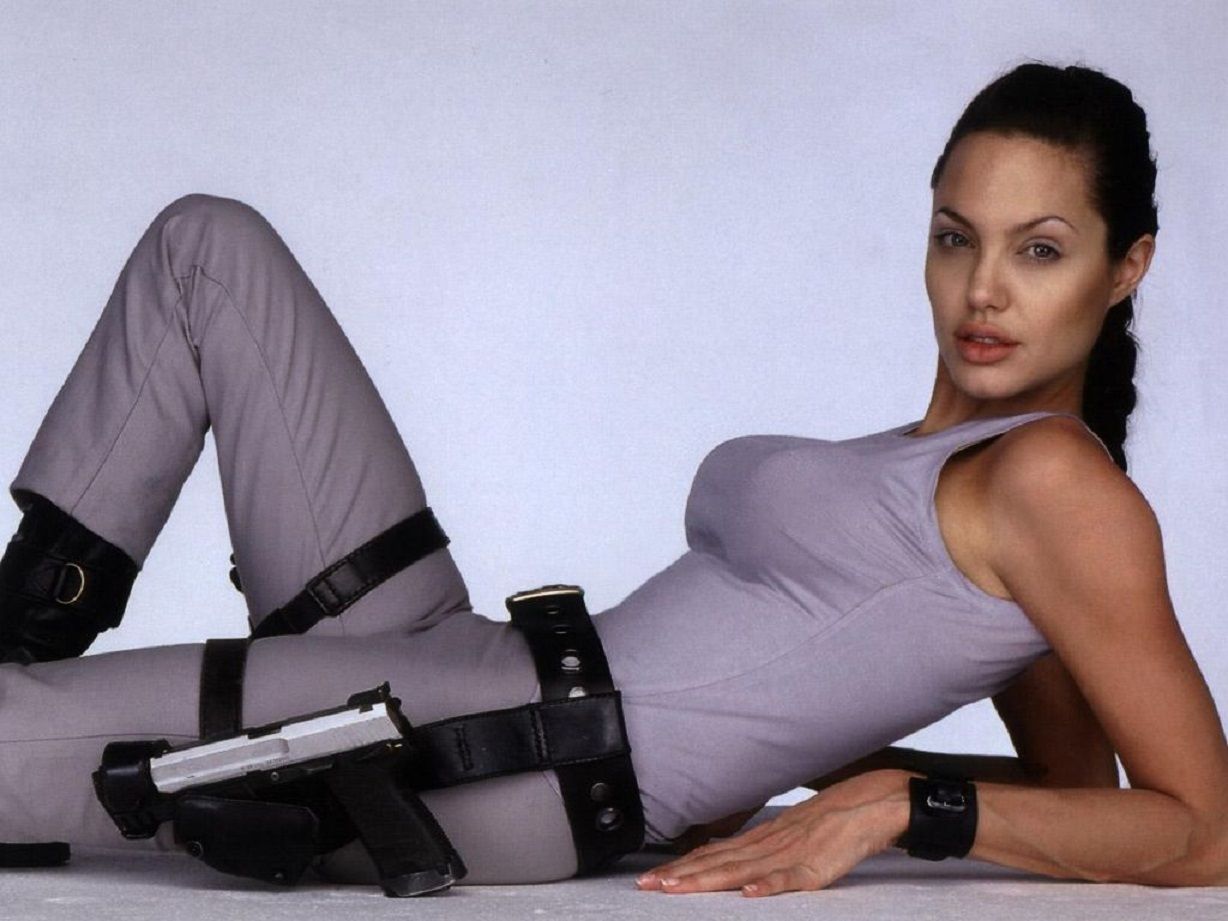 Angelina Jolie as Lara Croft, Tomb Raider (2001)