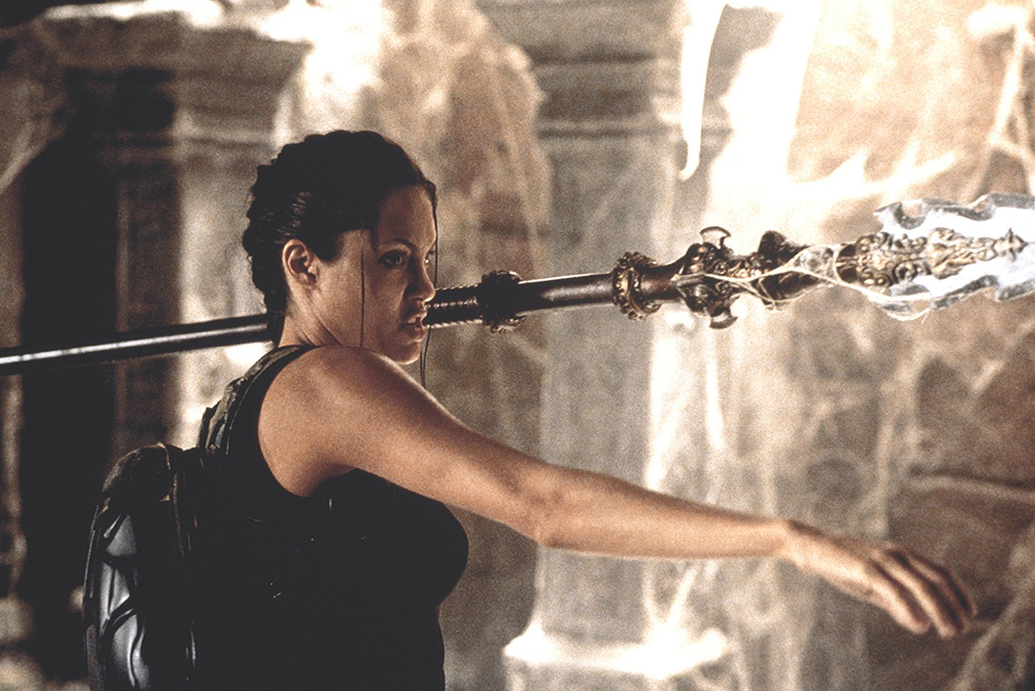 Angelina Jolie in Lara Croft, Tomb Raider (2001)