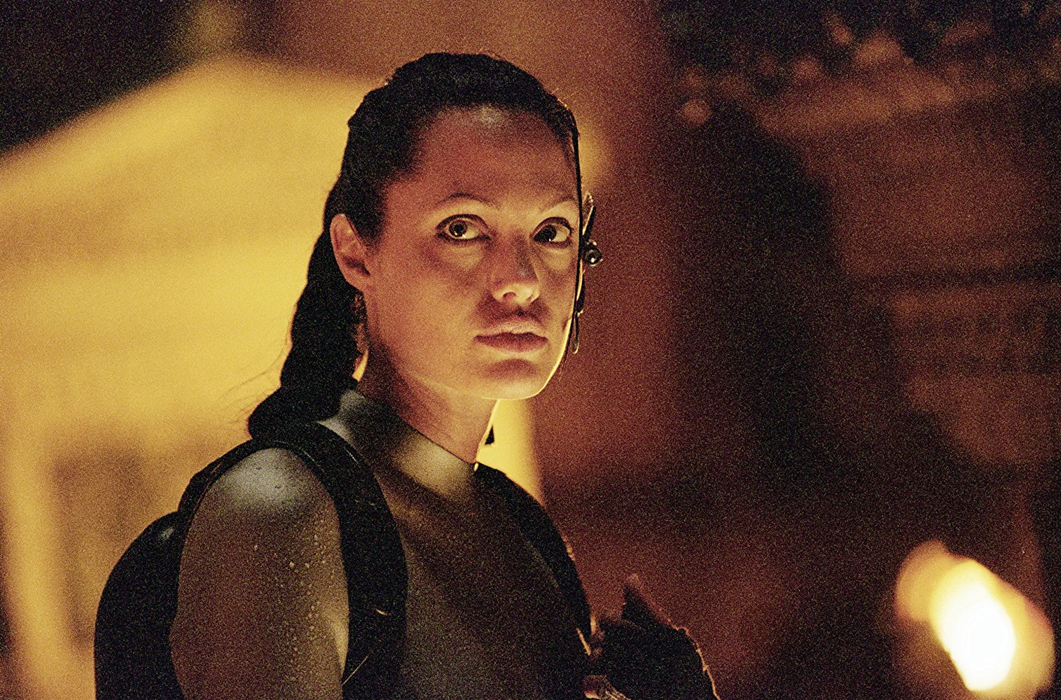 Angelina Jolie as Lara Croft in Lara Croft, Tomb Raider: The Cradle of Life (2003