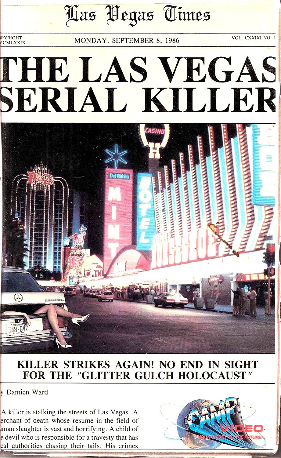 The Las Vegas Serial Killer (1986) poster