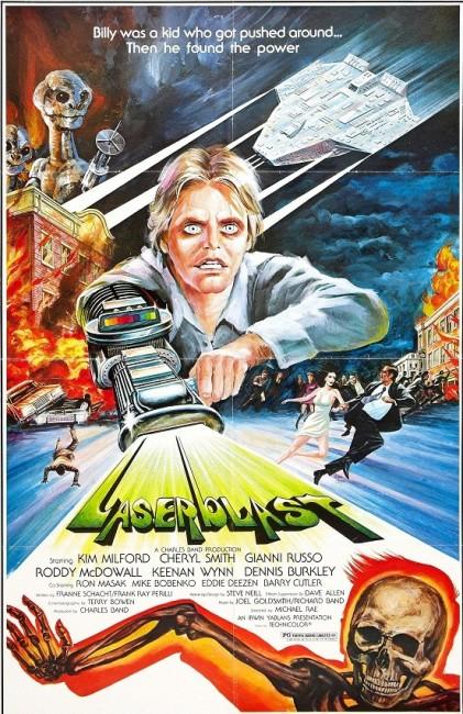 Laserblast (1978) poster