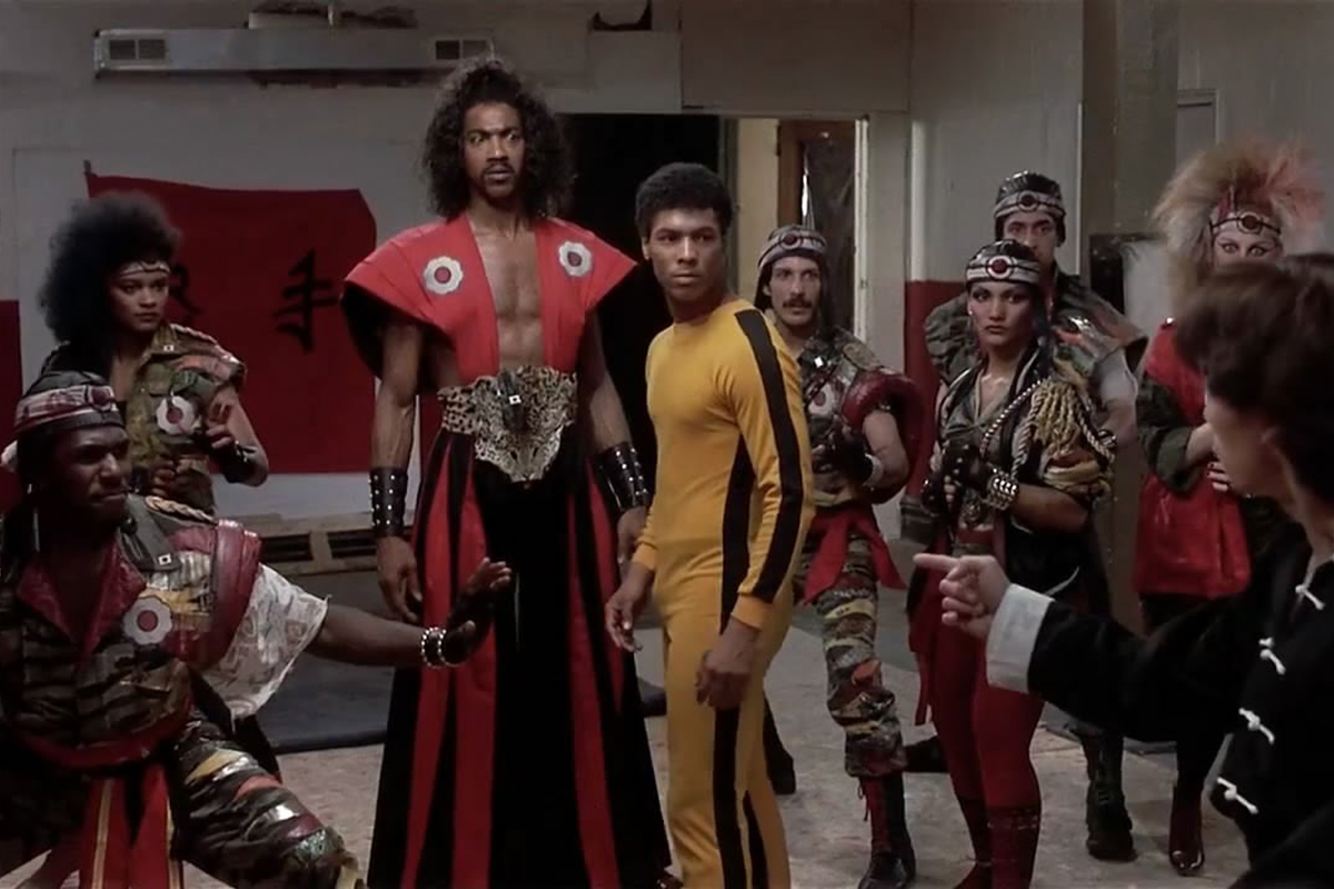 Taimak and Julius J. Carry III in The Last Dragon (1985)