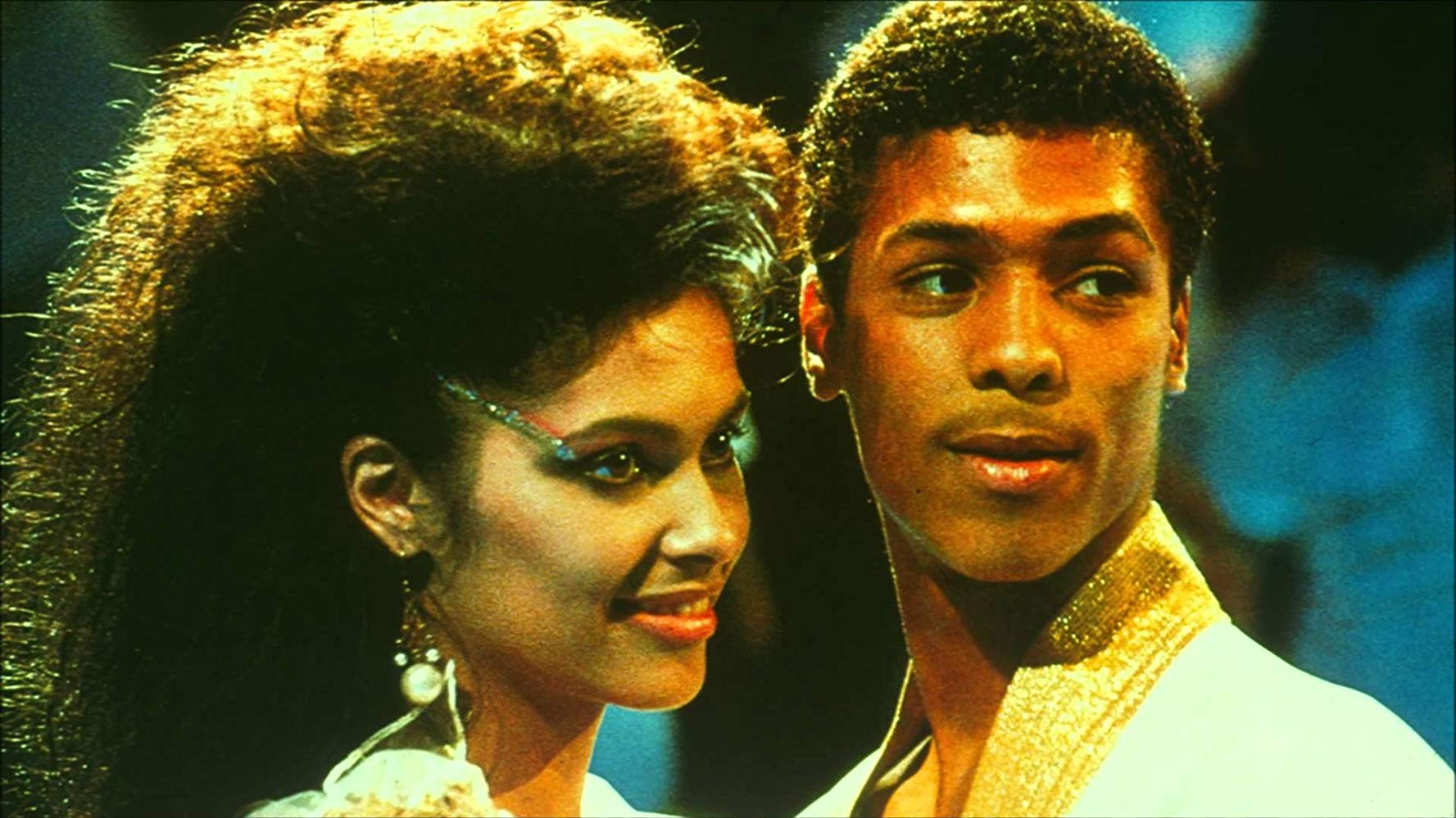 Vanity and Taimak in The Last Dragon (1985)