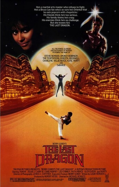The Last Dragon (1985) poster