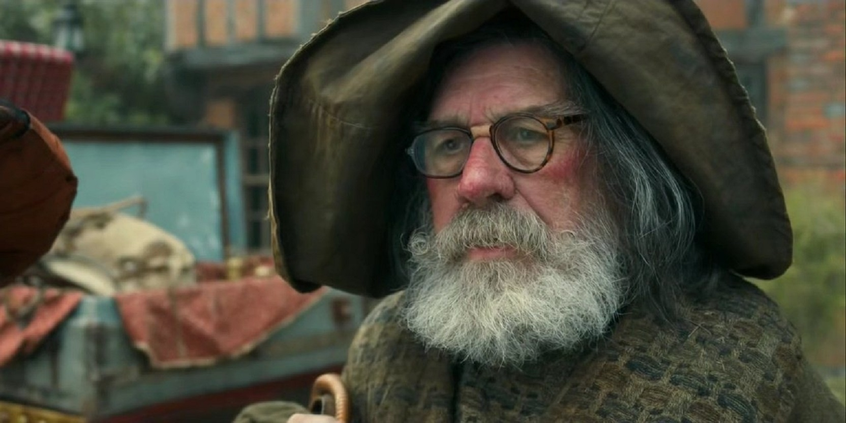 Ricky Tomlinson as the wizard Moobin in The Last Dragonslayer (2016)