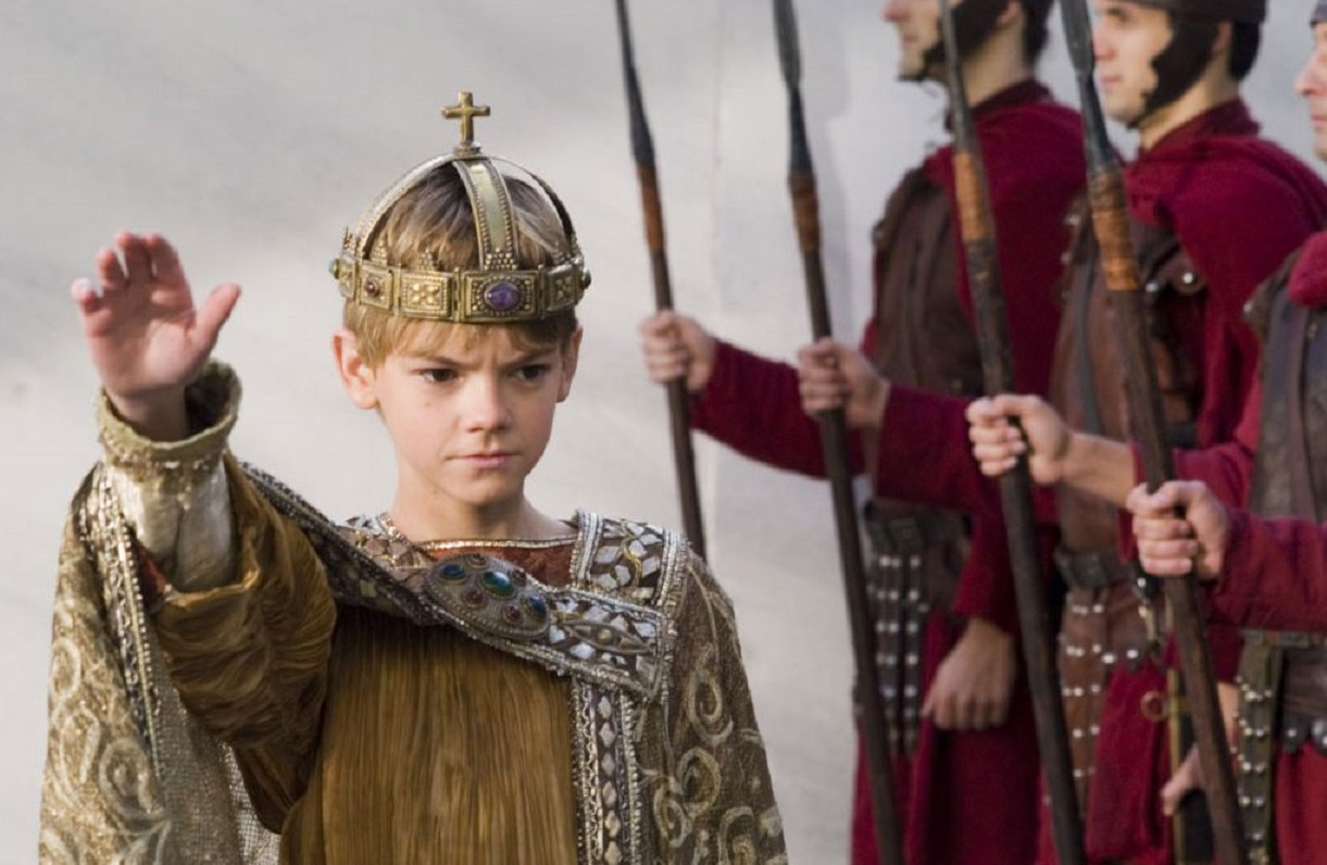 Thomas Sangster as the last emperor of Rome, Romulus Augustus in The Last Legion (2007)