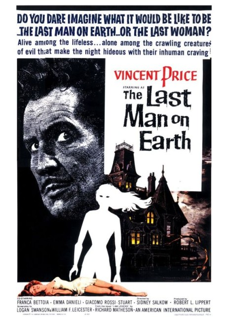 The Last Man on Earth (1964) poster