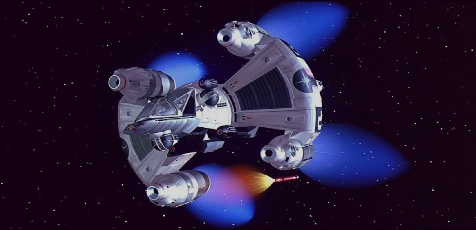 The Gunstar from The Last Starfighter (1984)