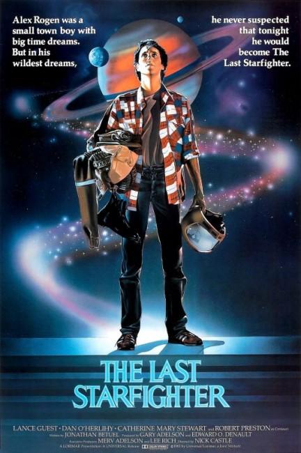The Last Starfighter (1984) poster