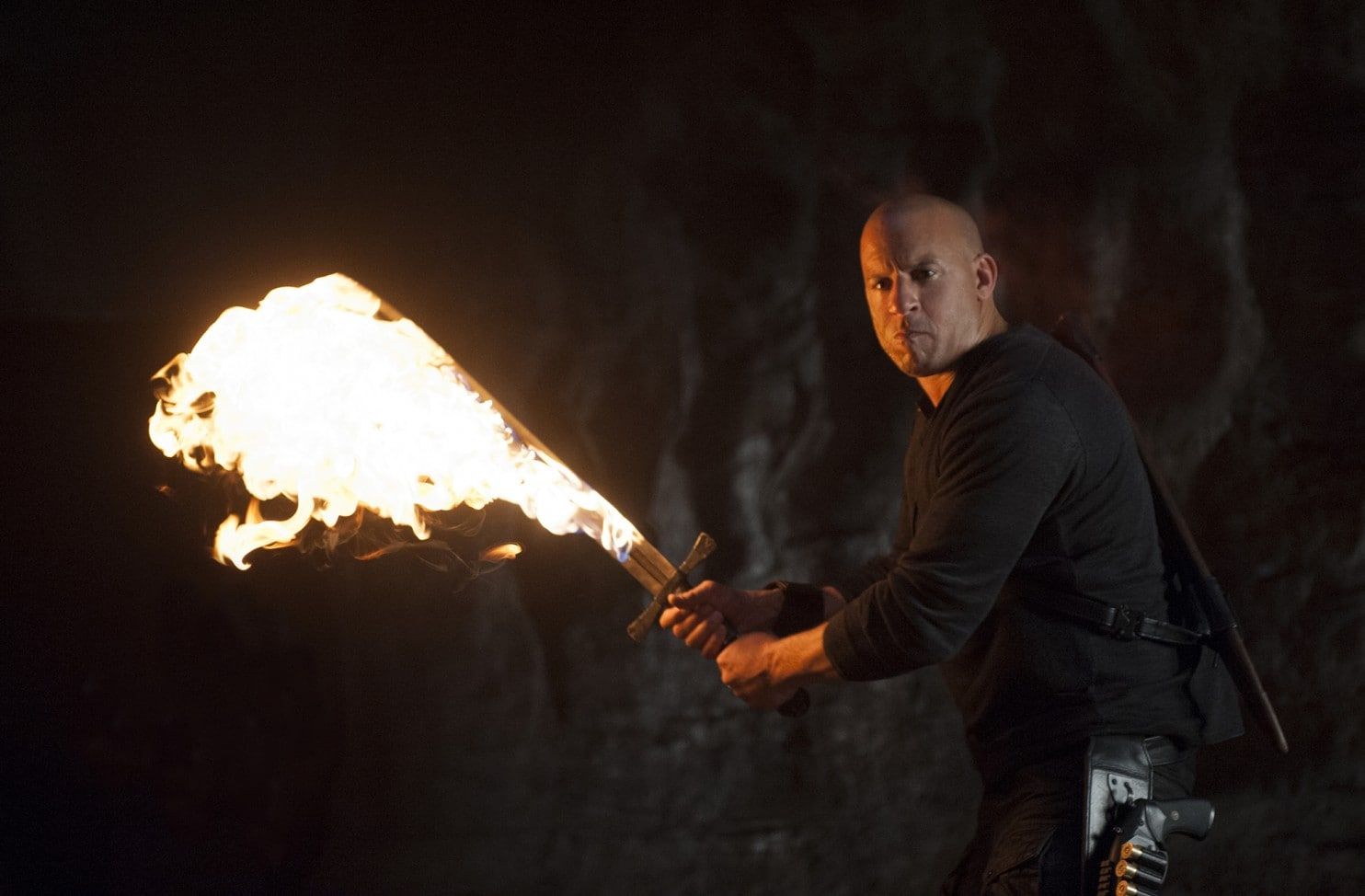 Vin Diesel as the witch hunter Kaulder in The Last Witch Hunter (2015)