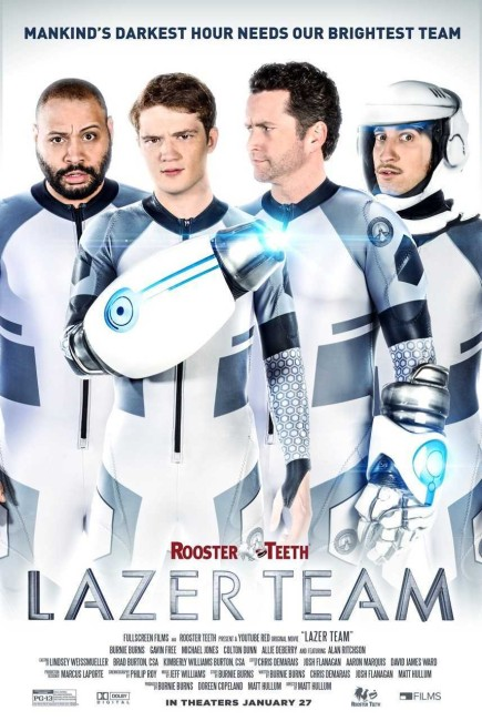 Lazer Team (2015) poster