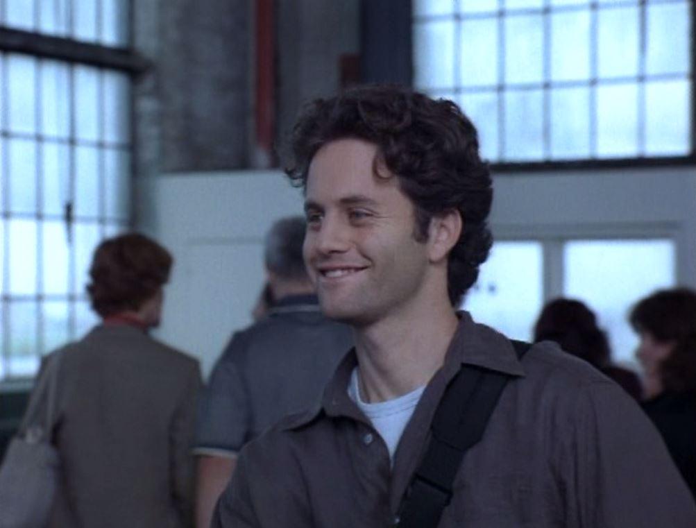 Kirk Cameron as journalist Buck Williams in Left Behind (2000)