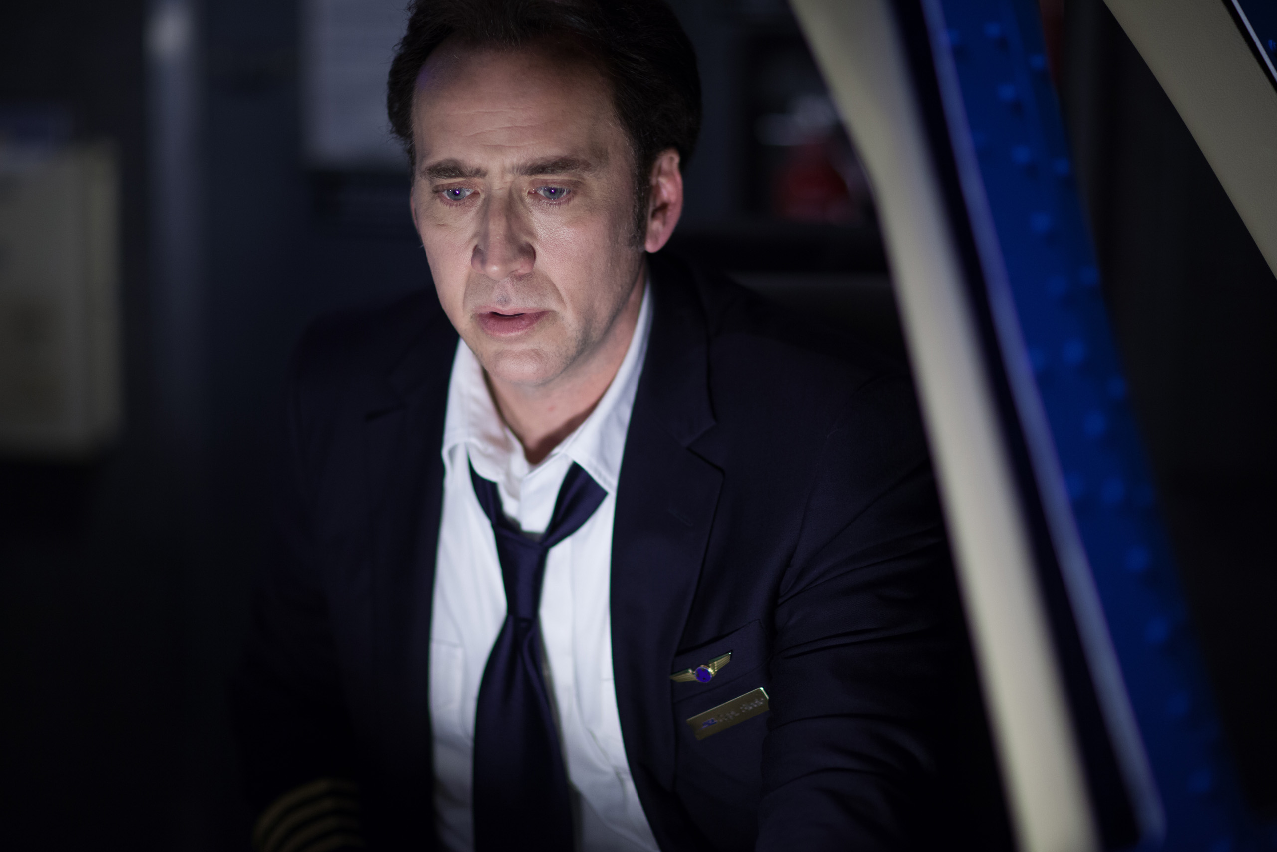 Nicolas Cage as Rayford Steele in Left Behind (2014)