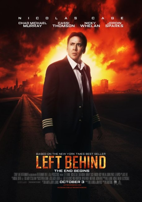 Left Behind (2014) poster