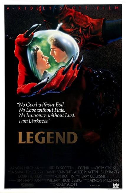 Legend (1985) poster