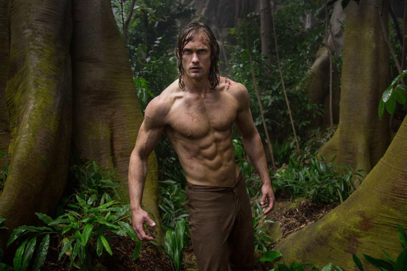 Alexander Skarsgård as Tarzan in The Legend of Tarzan (2016)