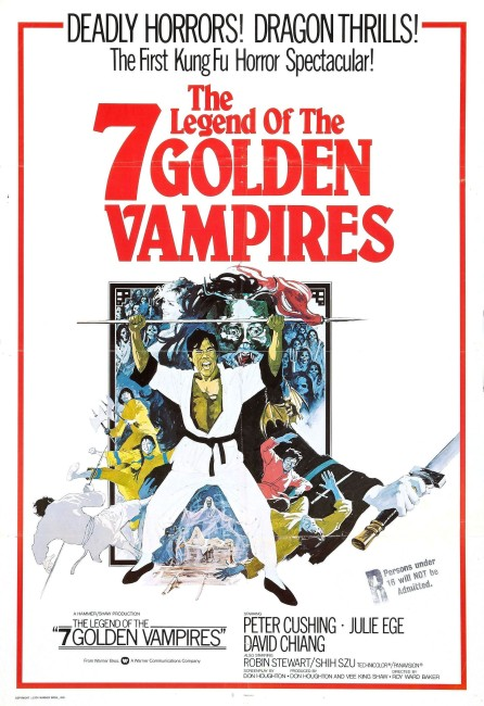 The Legend of the 7 Golden Vampires (1974) poster