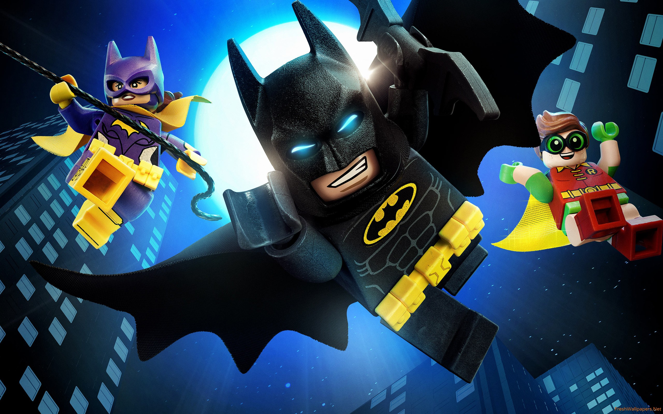 Batgirl, Batman and Robin in The Lego Batman Movie (2017)