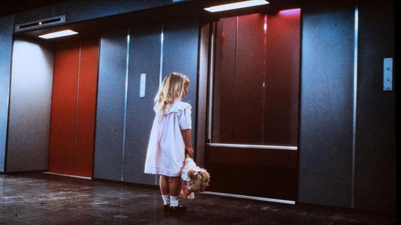 The doors of the elevator open for Isabelle Brok in The Lift (1983)