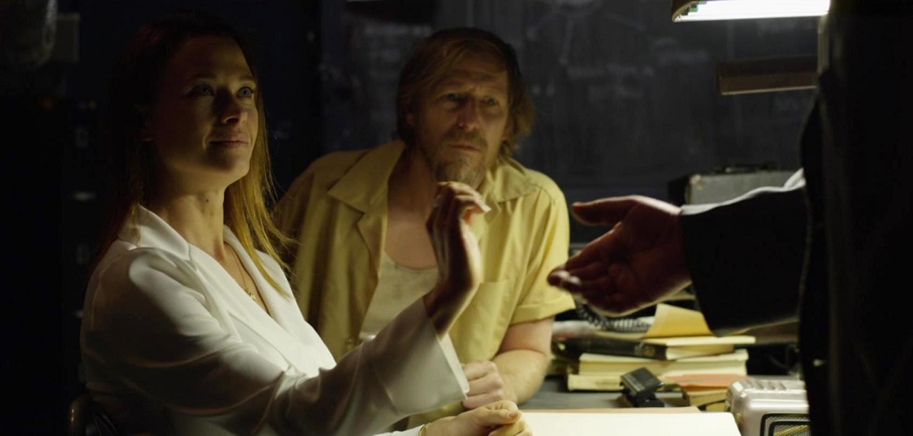 Lew Temple and lawyer Scottie Thompson in Limbo (2019)