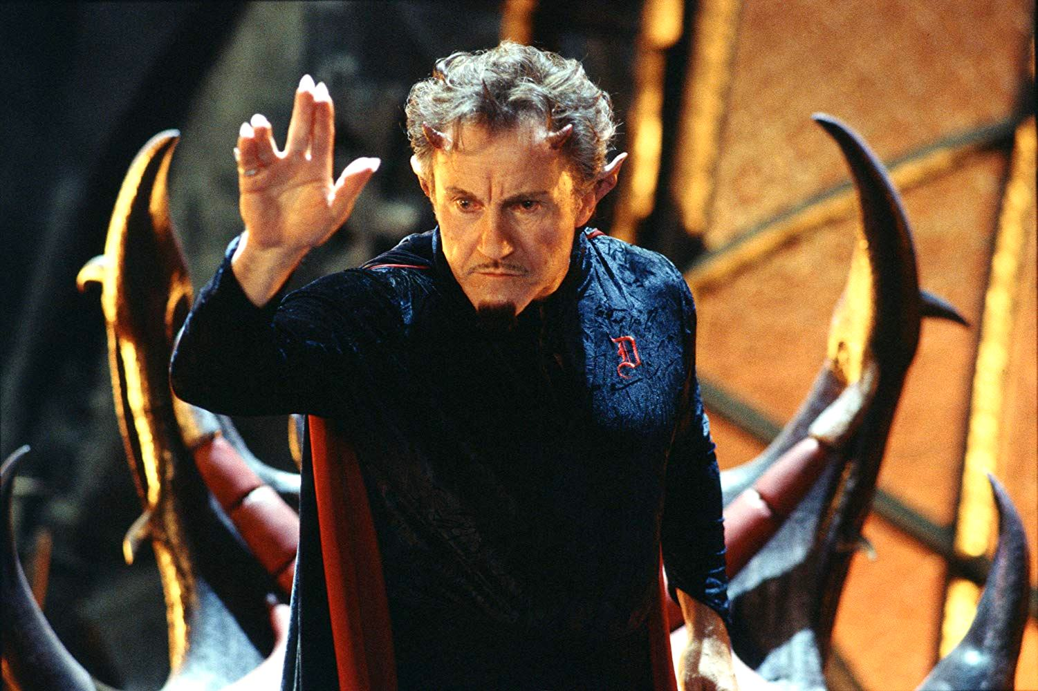 Harvey Keitel as Satan in Little Nicky (2000)