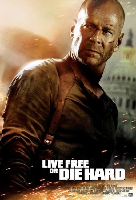 Live Free or Die Hard (2007) poster