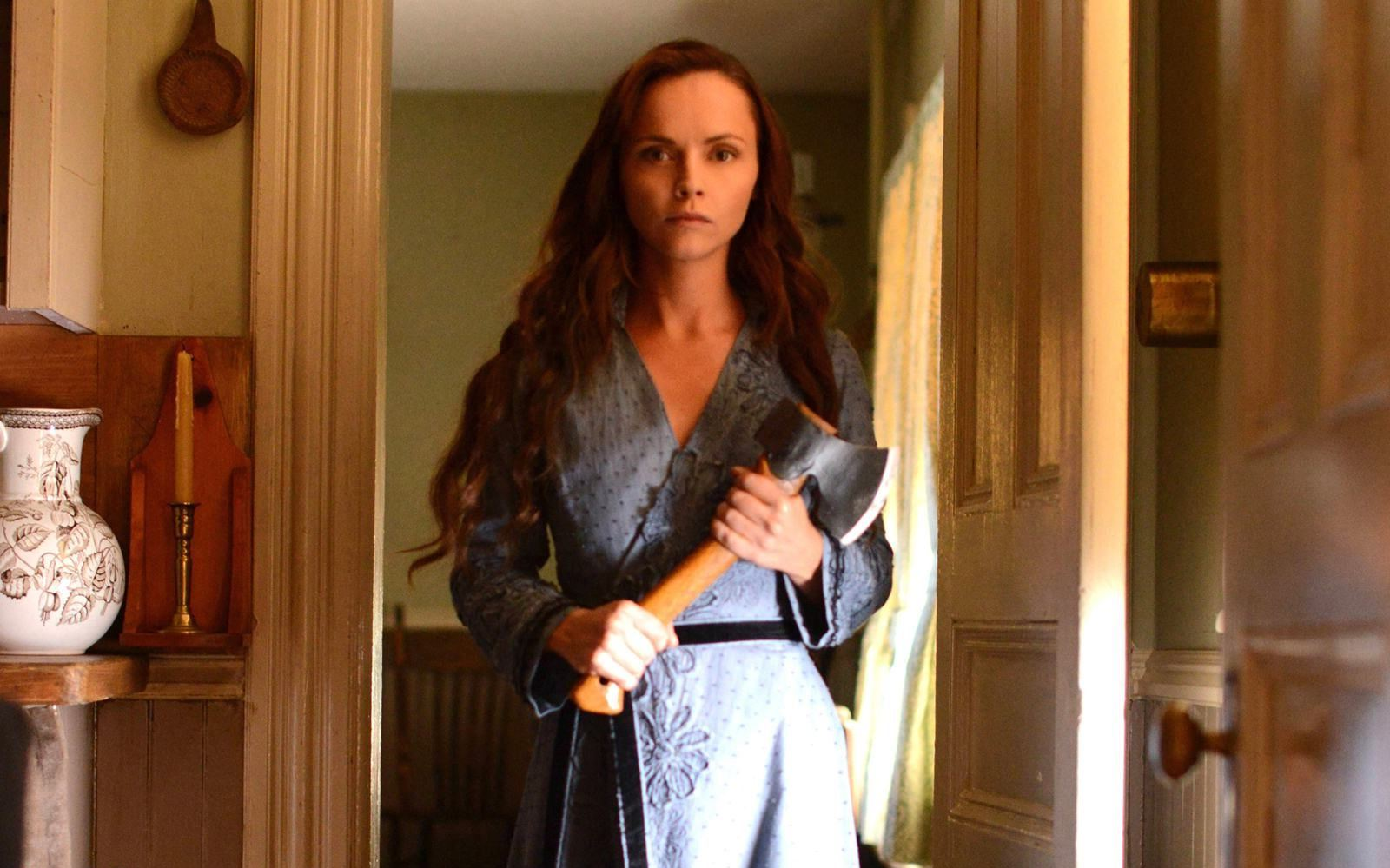 Christine Ricci as Lizzie Borden in Lizzie Borden Took an Axe (2014)
