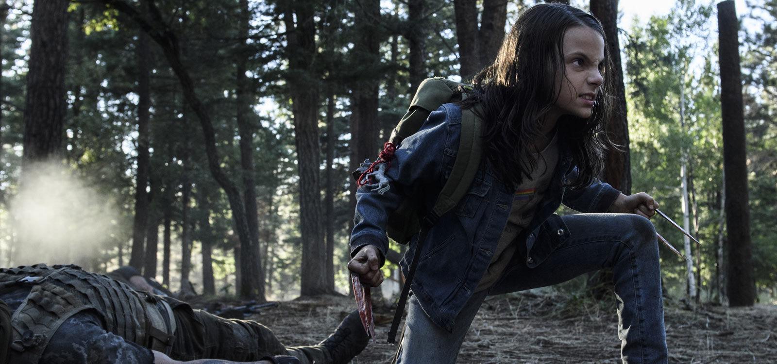 Dafne Keen in Logan (2017)