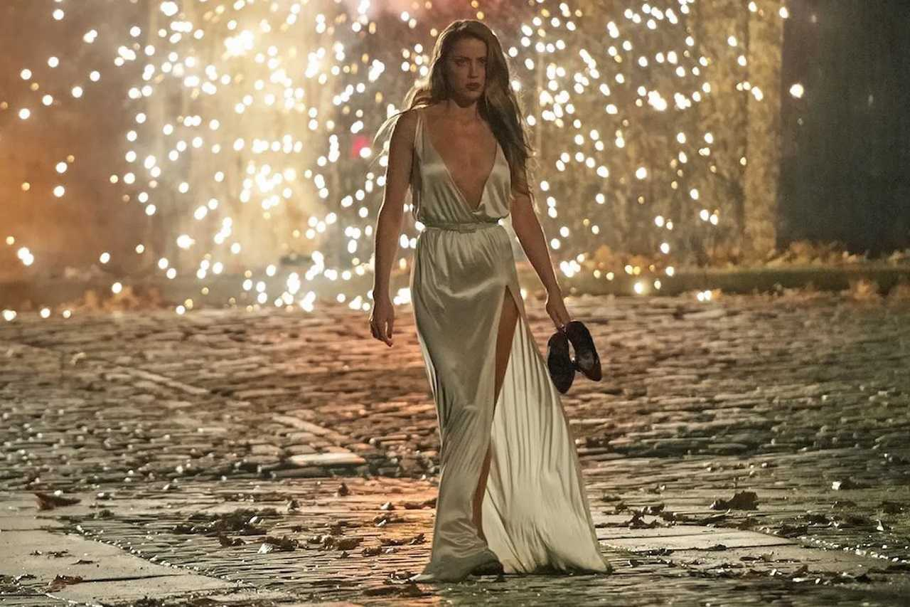Amber Heard as Nicola Six in London Fields (2018)