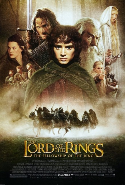 The Lord of the Rings: The Fellowship of the Ring (2001) poster