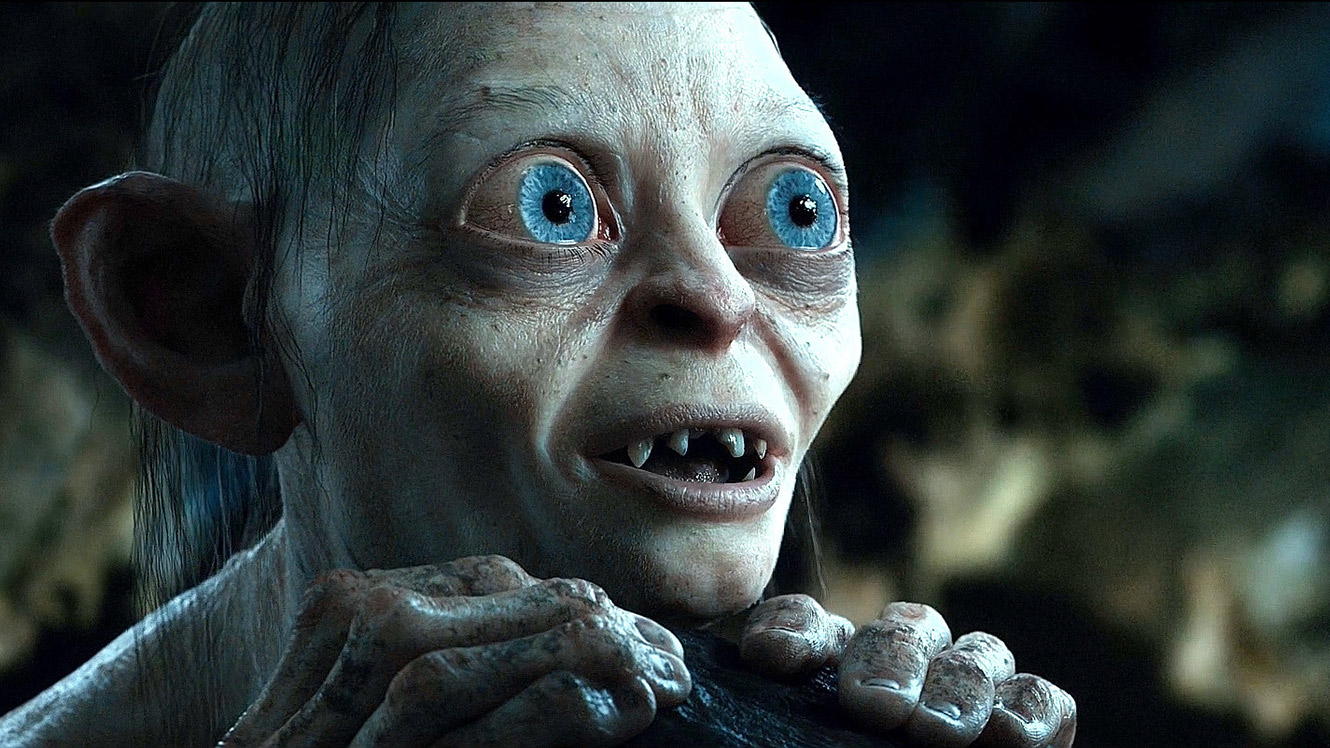 The appearance of Gollum (a mocapped Andy Serkis) in The Lord of the Rings: The Two Towers (2002)