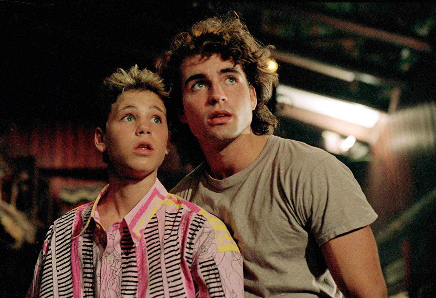 Corey Haim, Jason Patric in The Lost Boys (1987)