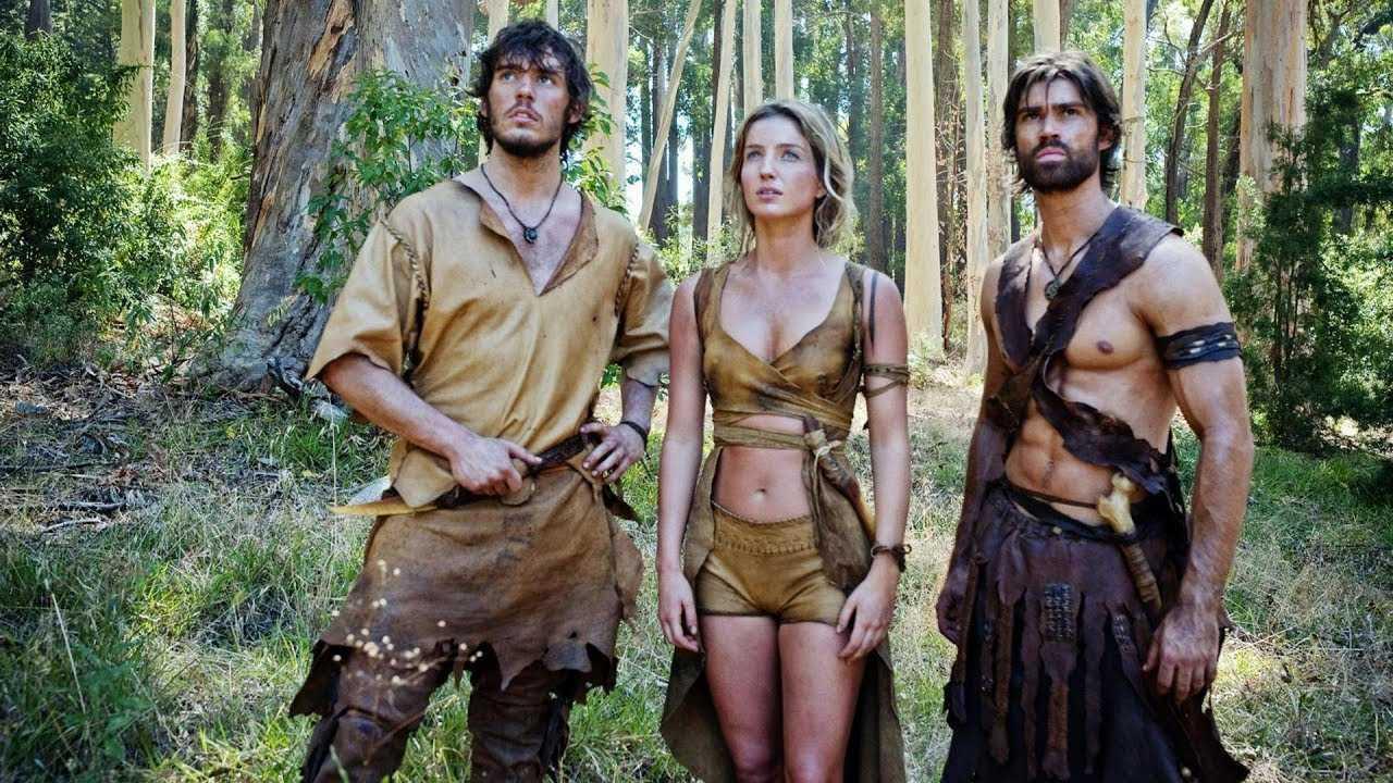 Kaleb (Sam Claflin), Dorel (Annabelle Wallis) and Savan (Corey Sevier) in The Lost Future (2010)