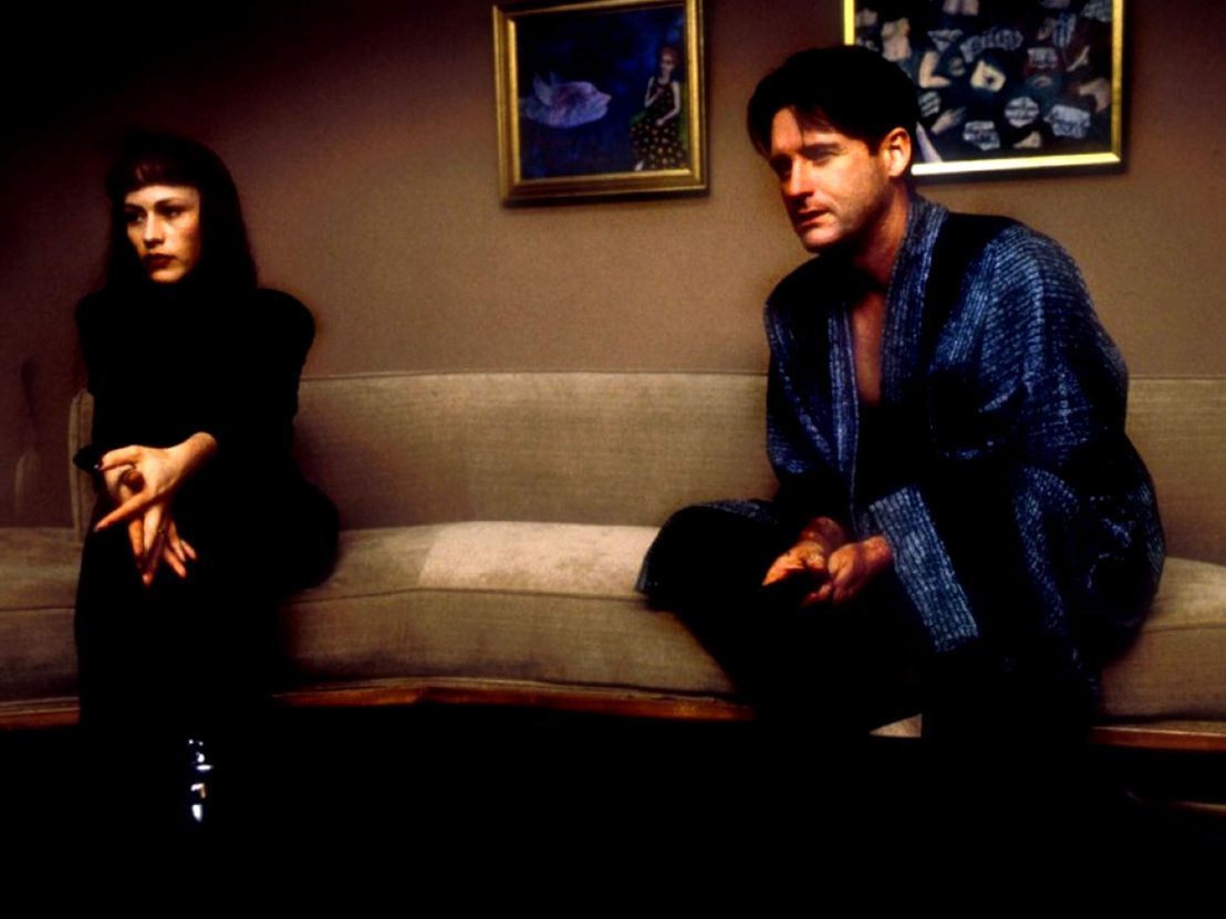 Bill Pullman and wife Patricia Arquette in Lost Highway (1997)