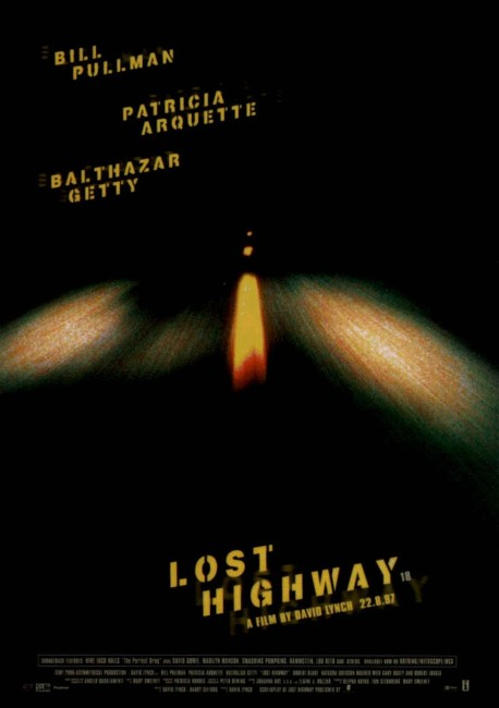 Lost Highway (1997) poster