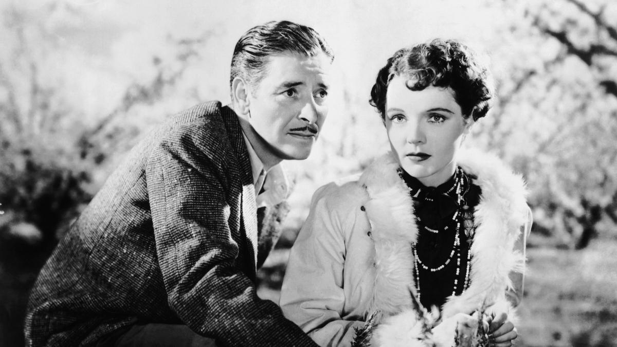 Ronald Colman and Jane Wyatt in Lost Horizon (1937)