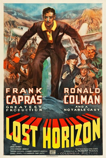 Lost Horizon (1937) poster