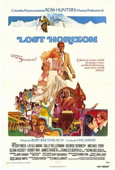Lost Horizon (1973) poster