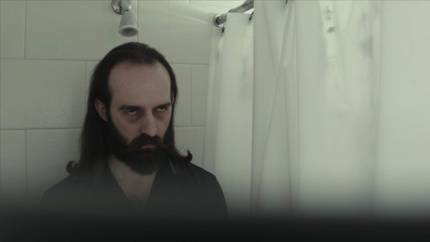 A brooding Alexander Gorelick in Luciferous (2015)