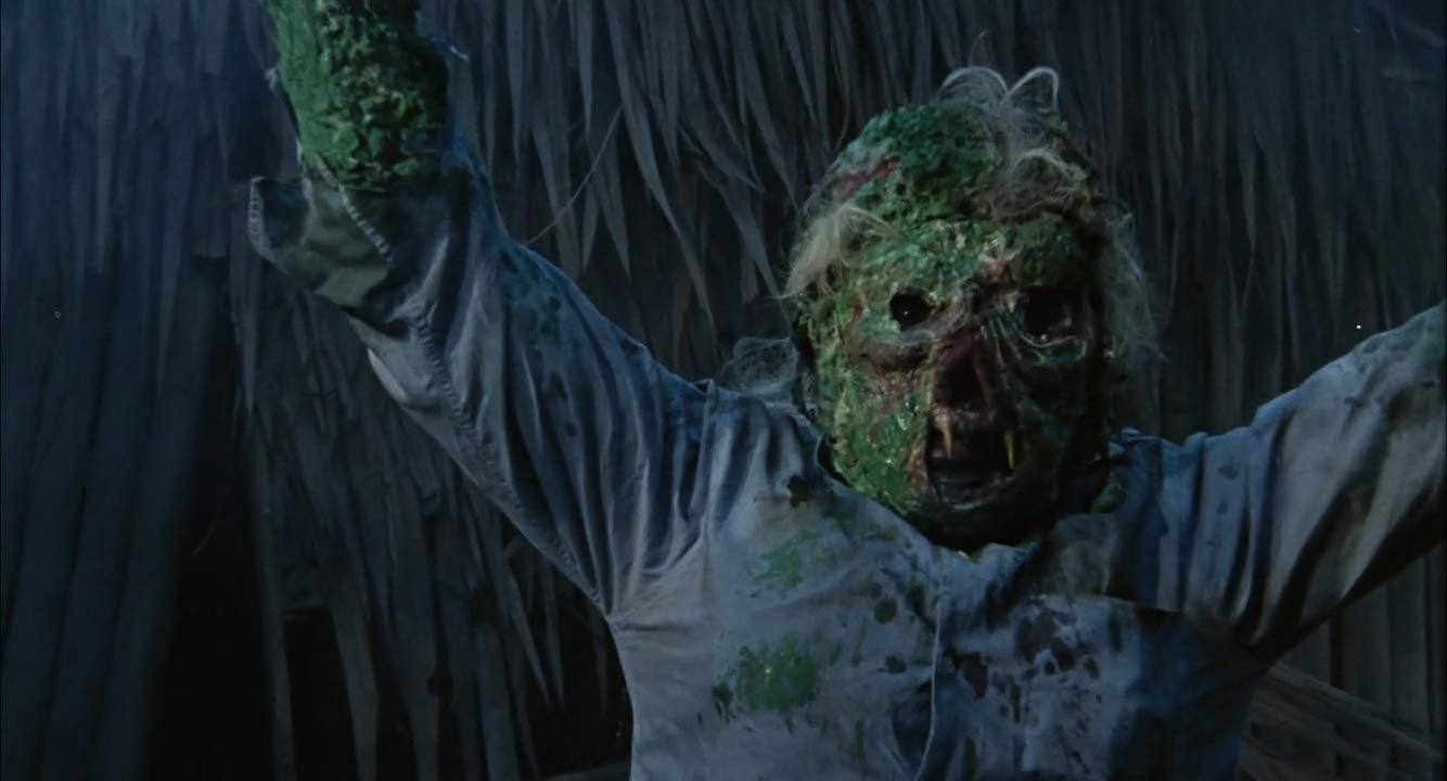The chlorophyll monster in Mad Doctor of Blood Island (1969)