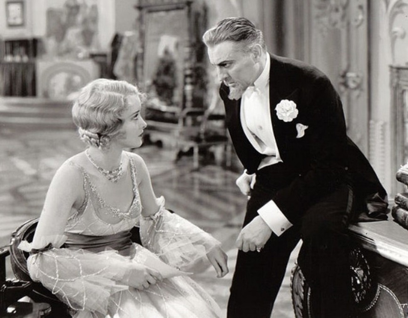 John Barrymore and Marian Marsh in The Mad Genius (1931)