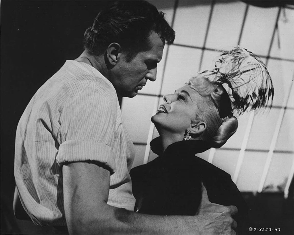 Vincent Price and Eva Gabor in The Mad Magician (1954)