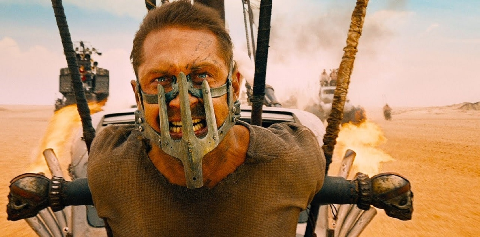Tom Hardy as Mad Max in Mad Max: Fury Road (2015)